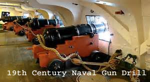 24 lb gun deck